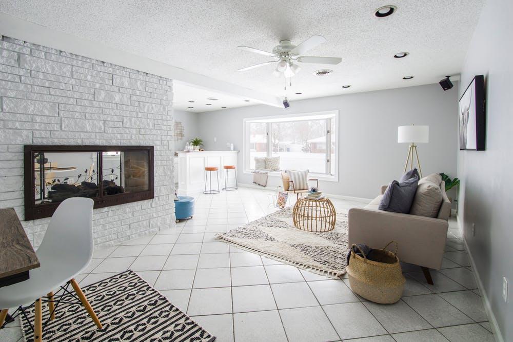 Aprovecha al máximo espacio en un piso pequeño.